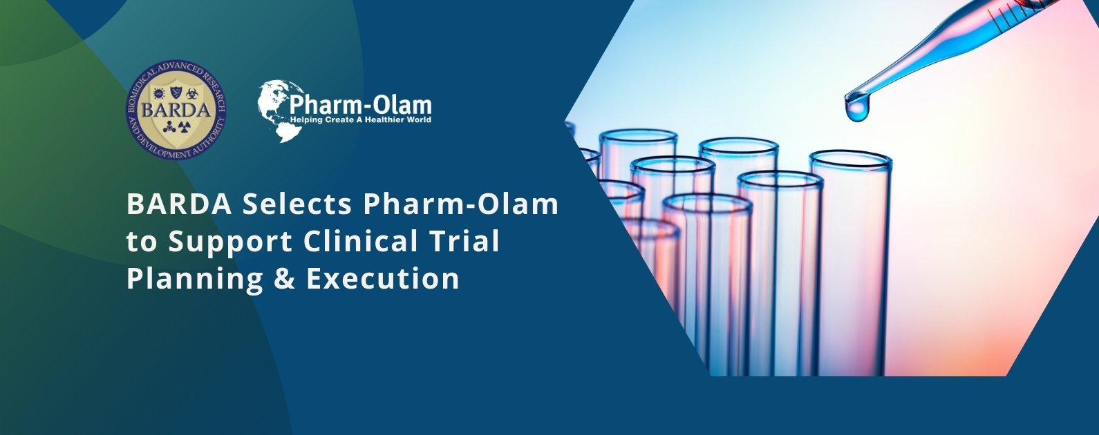 BARDA Selects Pharm-Olam to Support Clinical Trial Planning & Execution for up to 5 Years