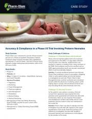 Accuracy and Compliance in a Phase I/II Trial Involving Preterm Neonates