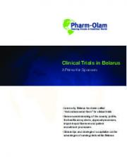 Clinical Trials in Belarus: A Primer for Sponsors